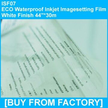 "ECO Waterproof Inkejt Film Clarity Finish    44""*30m"