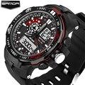 Mens Watches 2016 SANDA Fashion Clock Men Waterproof Sports Military Wristwatch Shock Resistant Analog Digital Watch Men Relojes