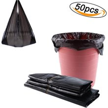 Trash Bags Handle Garbage Bags Disposable Diaper Bags Strong Rubbish Wastebasket Bin Liners for Office,Home, Kitchen and Bedroom цены