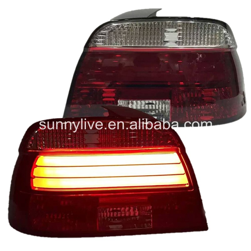 E39 5 Series 520 525 528 530 535 540 For BMW LED Strip Tail Lamp 1995-2000 Year