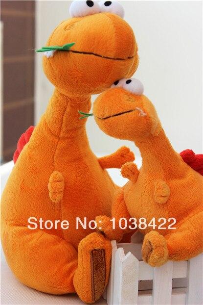 Dinopolis naranja muñeca muñecas de peluche de juguete de regalo