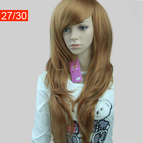 black women wig hairpiece periwig Hair Wig Hairpiece Periwig wave Long Ladies