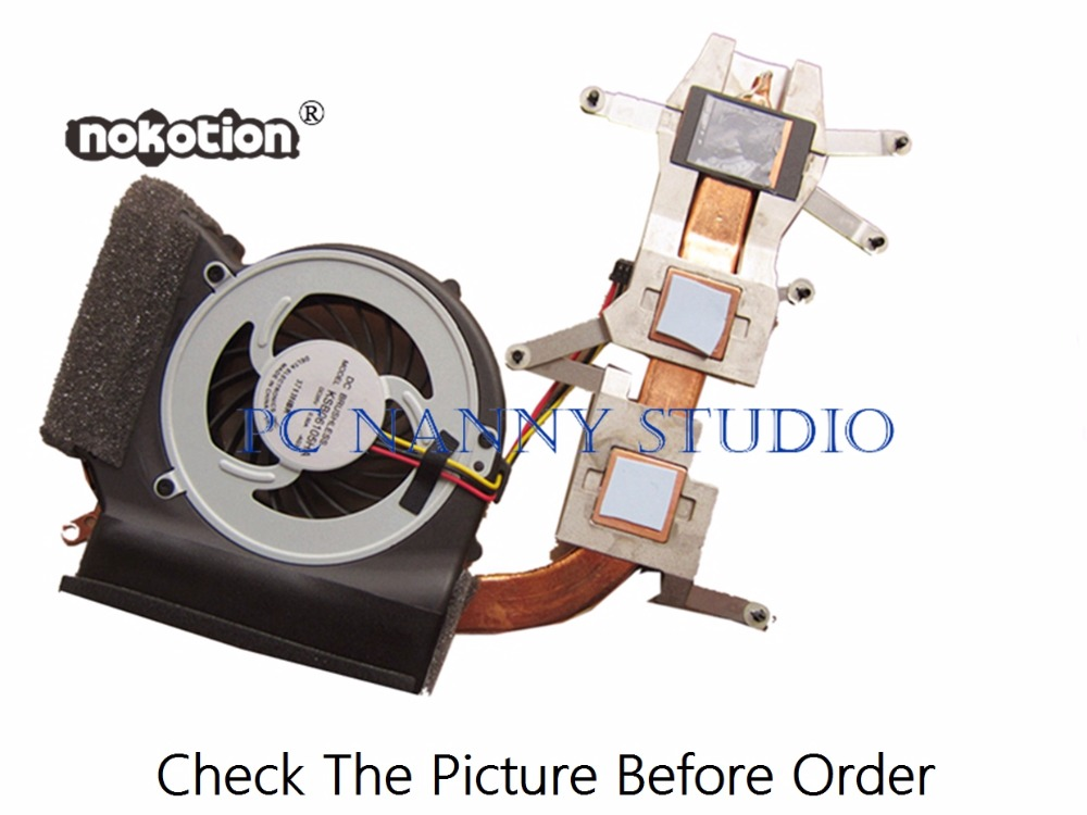 Fan Cooling Computer Components Shop For Cheap Nokotion For E40 E50 75y6001 Cooling Fan & Heatsink Assembly Radiator Cooler Working Be Friendly In Use