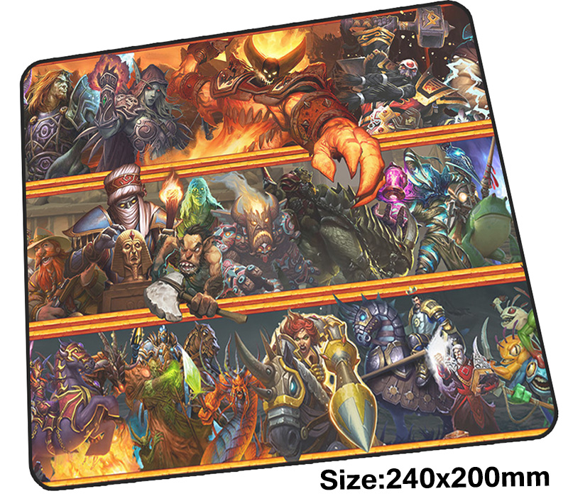 Hearthstone mouse pad gamer 240x200mm notbook mouse mat Customized gaming mousepad large Personality pad mouse PC desk padmouse