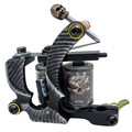 New Tattoo Machine Handmade Taty Coil Gun 10 Wraps Supplies MZZ110-9