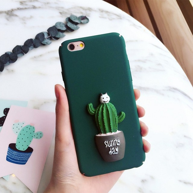 iphone 7 phone case cactus