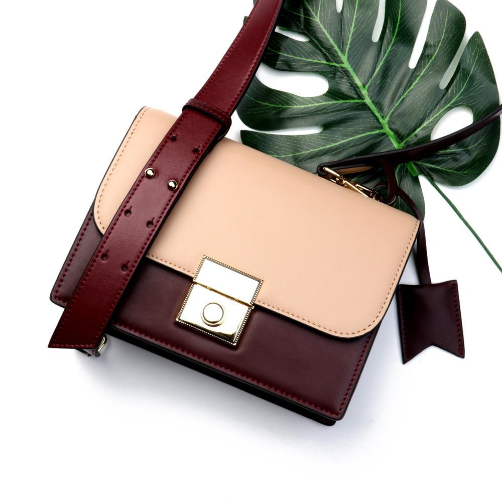 цена на DorisFanny Genuine Leather New Fashion Small Women Messenger Bags Good Quality Hot Sale Shoulder Bags Women Handbags Crossbody