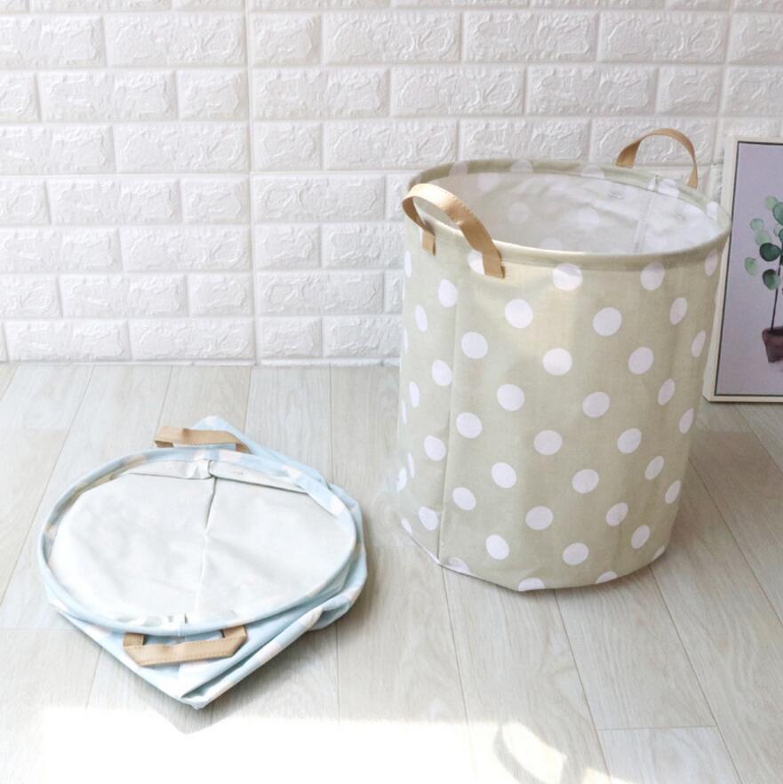 Nuevos puntos gran cesto de lavandería plegable impermeable de ropa ...