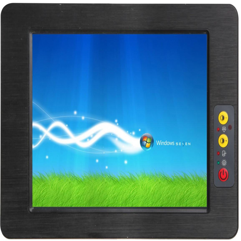 Hot Sale Fanless 12.1 Inch Embedded Industrial Panel PC With Windows XP/ Win7 / Linux System