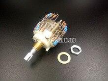 1PCS Assembled Dale 23 Step Attenuator 2 Chl Volume potentiometer 100k