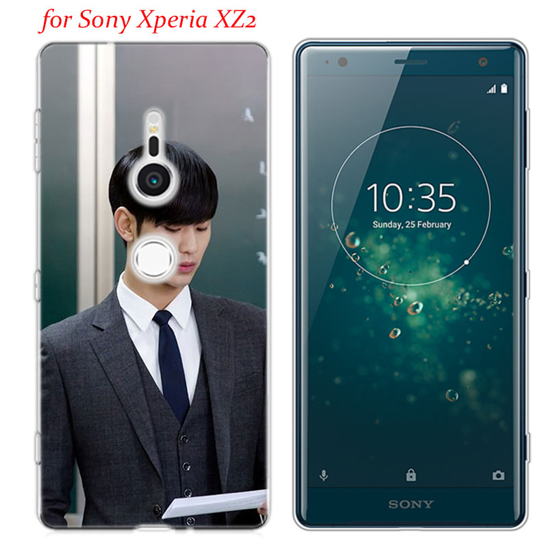 Transparent Soft Silicone Phone Case You who came from the stars for Sony Xperia E5 XA1 XA2 M5 Z5 XZ1 XZ2 Compact in Fitted Cases from Cellphones Telecommunications