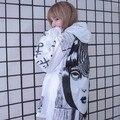 Blusão casaco quadrinhos longo protetor solar à prova d' água roupas plus size do punk jaqueta de Manga blusão homens mulheres amante de Horror