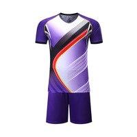 Football Jerseys Men Tracksuit Maillot De Foot Sublimation Printing British Soccer Jerseys Men Sportswear Blank Football Shirts
