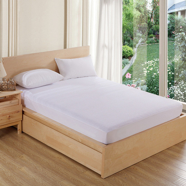 Waterproof Terry Cloth Mattress Cover 3