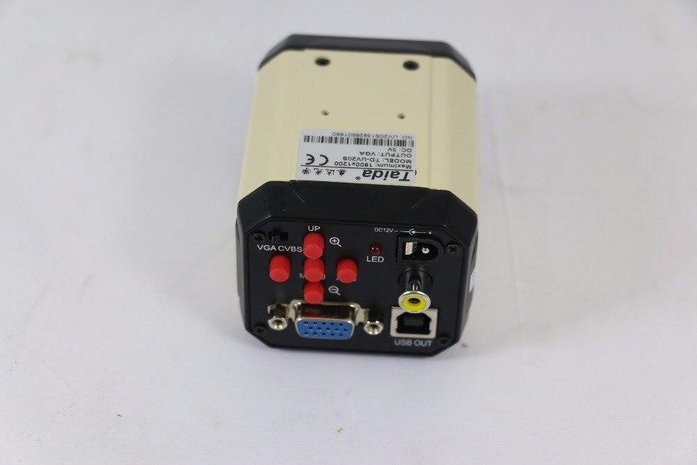 5pcs/lot white color 3 in 1 HD Digital Industry Industrial Microscope Set Camera Magnifier VGA USB AV TV Video output PCB Lab  цены