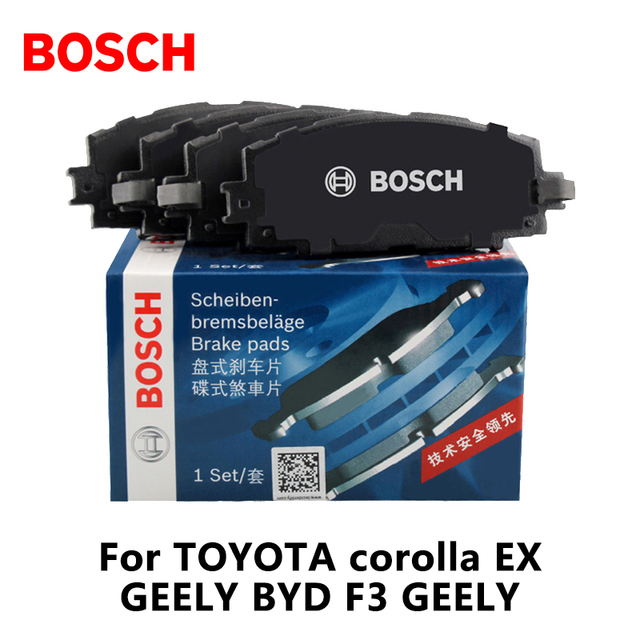Toyota Brake Pads >> Bosch Car Rear Brake Pads 0986ab1166 For Toyota Corolla Ex Geely Byd