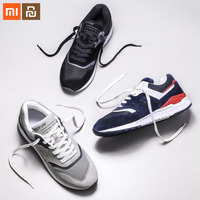3 color xiaomi mijia 90 points leather retro casual shoes sports shoes breathable refreshing mesh men's sports shoes smart home