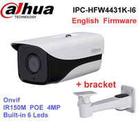 Original Dahua 4MP Ip Camera IPC HFW4431K I6 Stellar Camera Support POE IP67 IR150M DH IPC