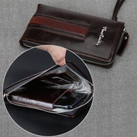 PierreCardin Casual Reticule Bag Man Bag Genuine Leather Bag Strap For Samsung Galaxy Note 8 7 5 4 Mobile Phone Case Cover Pouch