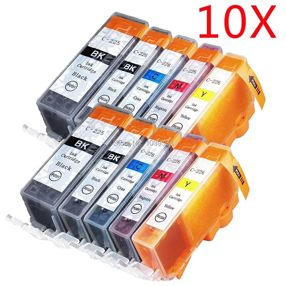 Refillable ink cartridge PGI-225 CLI-226 for Canon MX882 MX892 MG5220 MG5320 5PK
