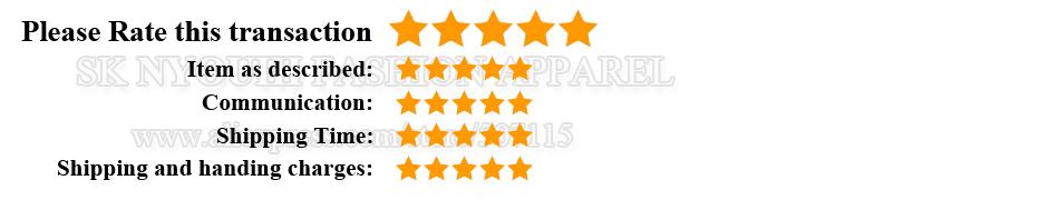 5 stars feedback SKRF
