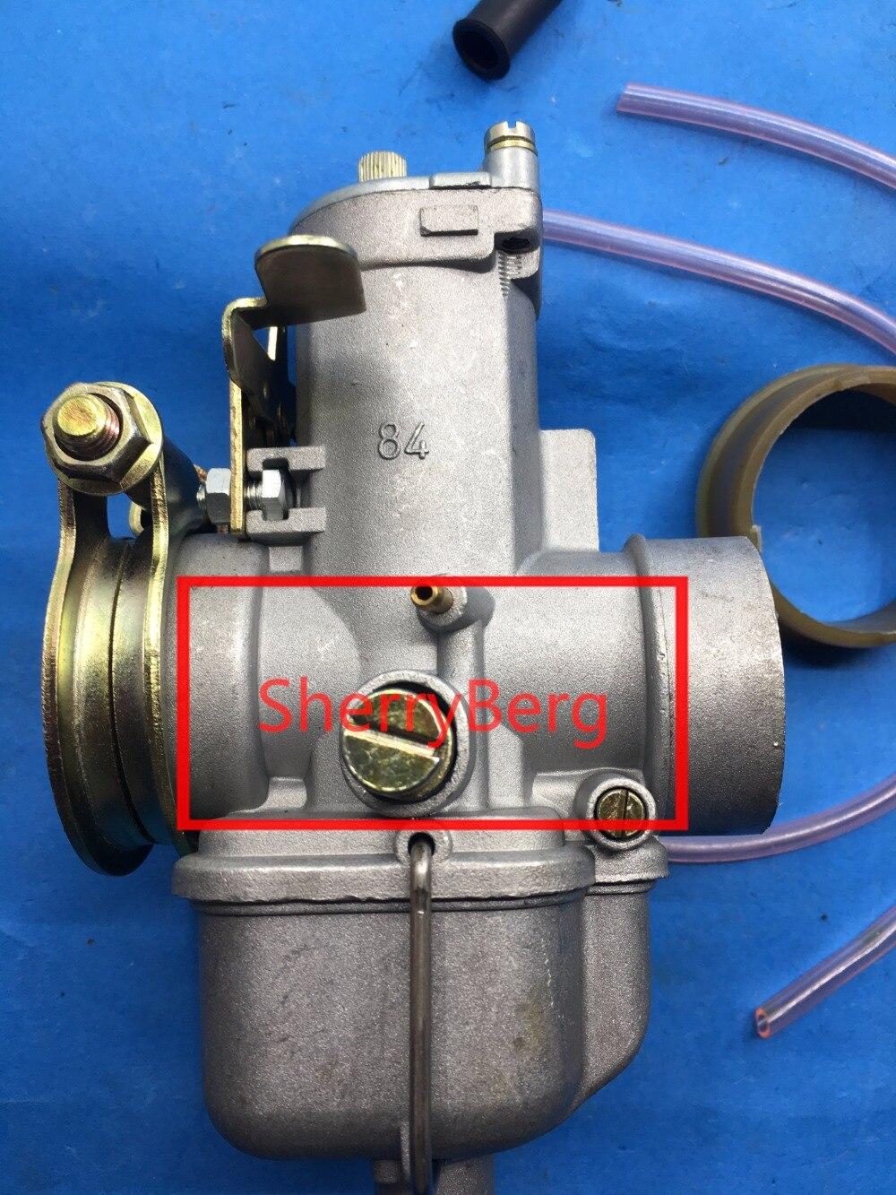 Carburateur SherryBerg vergaser carb Bing 84 KS MZ TS250 K125, 250,350 carburateur carby Bing84 vélo universel fit allemagne