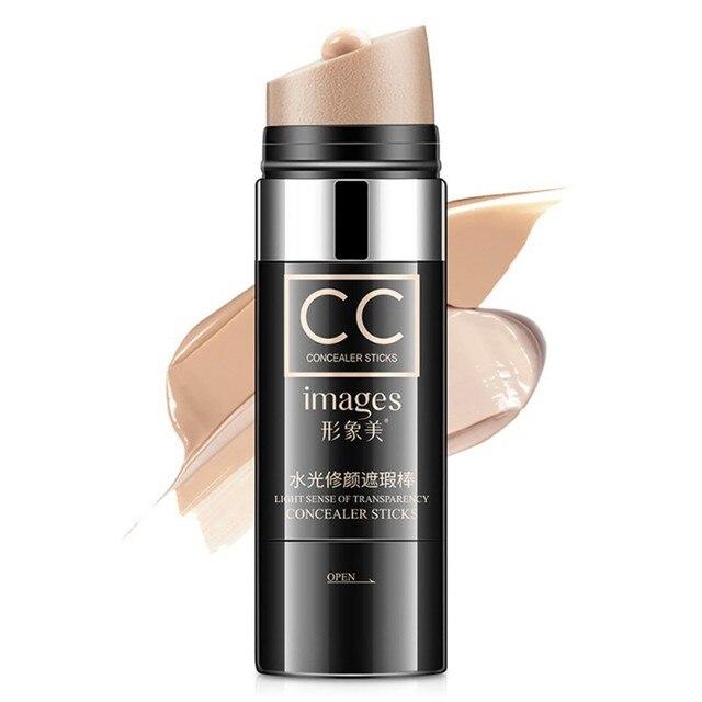 Cara Natural cojín de aire CC hidratante maquillaje cubierta impermeable blanqueamiento palo corrector iluminar el Color de la piel