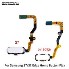 Back Home Button Fingerprint Sensor Flex Cable For Samsung Galaxy S7 G930 S7 Edge G935 Touch Fingerprint Sensor Repair Part