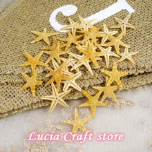 Lucia Crafts приблизительно 1-2 см Морская звезда DIY ремесла украшение дома свадебное украшение 25 шт./лот G0302