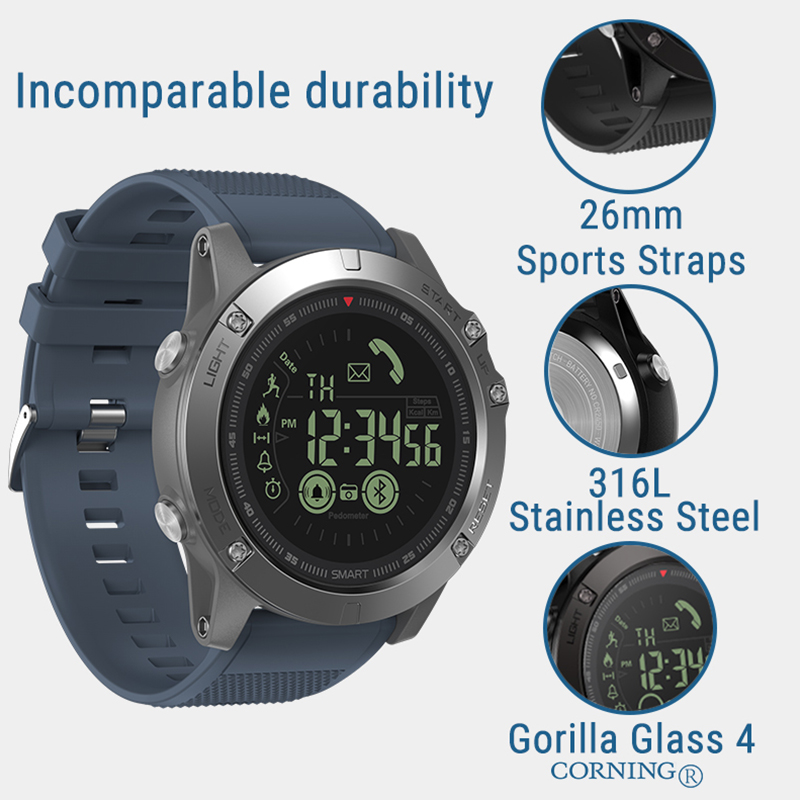 Image 4 - Zeblaze VIBE3 Pro IPS 3D Color Full Touch Display Smart Watch 5ATM IP67 Waterproof Smart Band Sport Watch Pedometer Heart Rate-in Smart Watches from Consumer Electronics