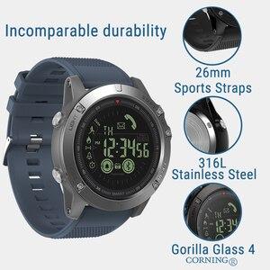 Image 4 - Zeblaze vibe3 pro ips 3d cor display toque completo relógio inteligente 5atm ip67 à prova dip67 água banda inteligente esporte relógio pedômetro freqüência cardíaca