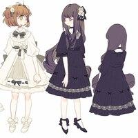 כרטיס שובים סאקורה kinomoto סאקורה קוספליי תלבושות לוליטה dress s-xl משלוח חינם