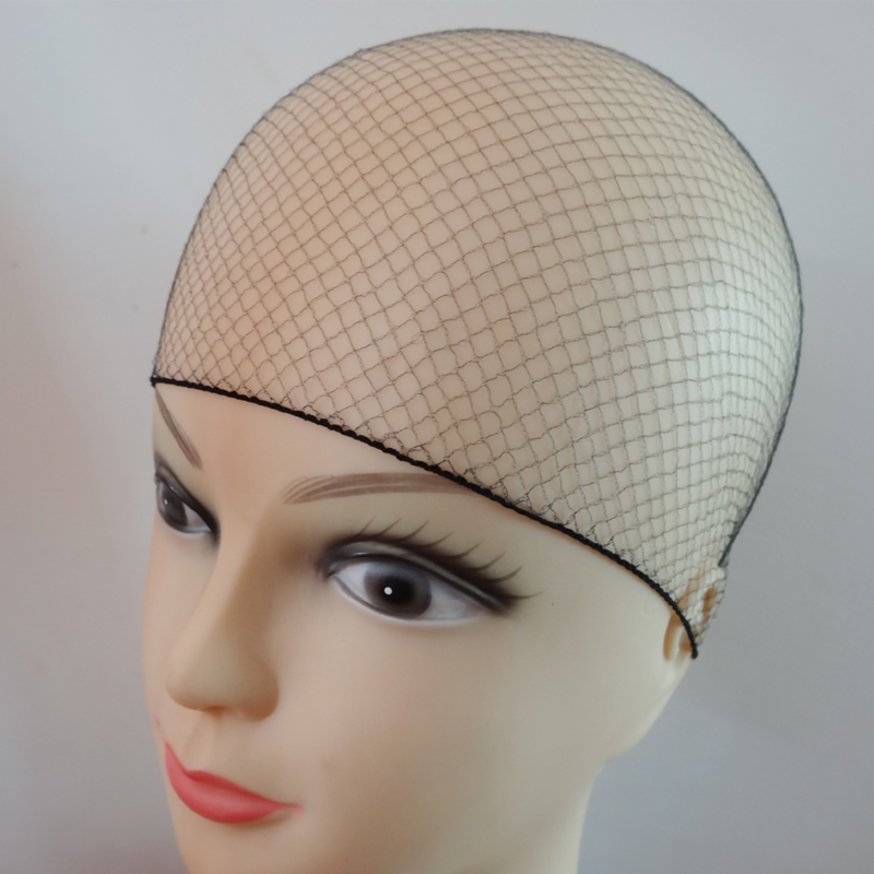 50pcs/20pcs Sample Order Five Colors Nylon Hairnets Black Brown Coffee Color Invisible Soft Elastic Lines Hair Net 5