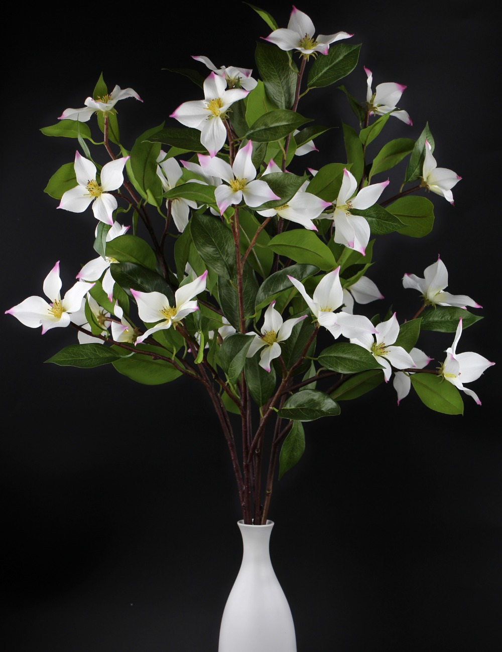 Rinlong artificial Dogwood Flowers branches