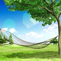 Portable Travel Outdoor Camping Hang Hammock Mesh Net nylon Sleeping Bed Sleeping Hammock Rede De Dormir