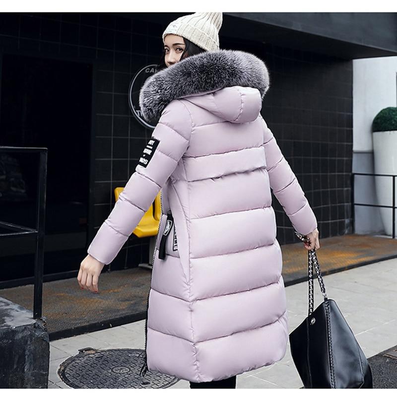 2019 New Extra Large Code Winter Coat Women
