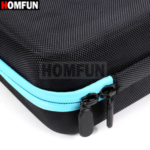 Image 5 - HOMFUN 60 Bottles Diamond Painting Box Tool Container Storage Box Carry Case Holder Hand Bag Zipper Design Shockproof Durable