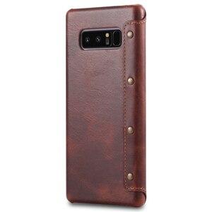 Image 3 - جراب هاتف جلدي أصلي فاخر لهاتف Samsung S10 S10Plus ، جراب لهاتف Samsung Galaxy S9 S10 Plus ، جراب لهاتف Samsung Note 9 S10e
