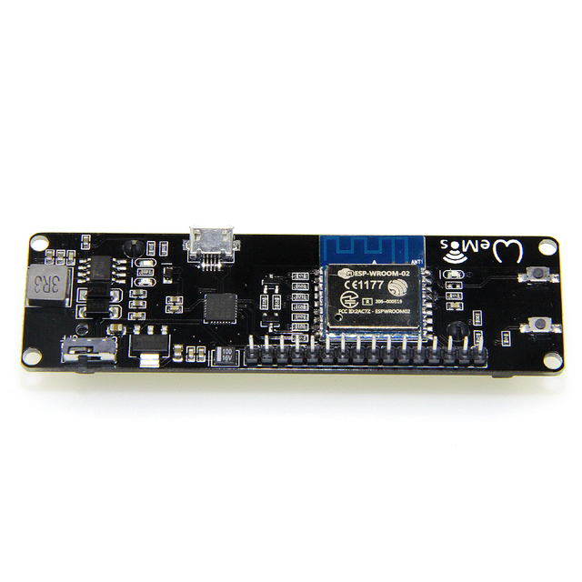 esp-wroom-02 Pocket 8266 D1 mini WIFI Module --ESP8266+18650 Battery