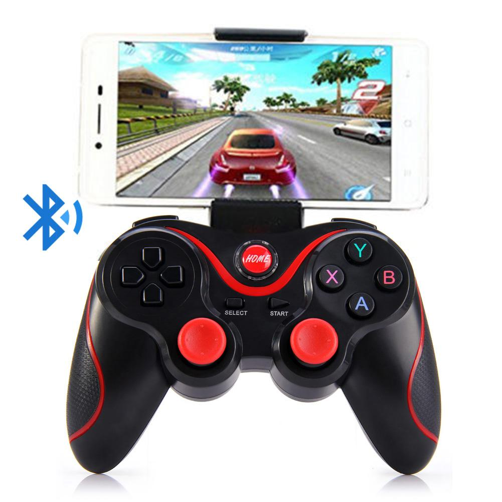 Image 3 - T3 Bluetooth Wireless Gamepad S600 STB S3VR Game Controller Joystick For Android IOS Mobile Phones PC USB Cable User Manual-in Gamepads from Consumer Electronics