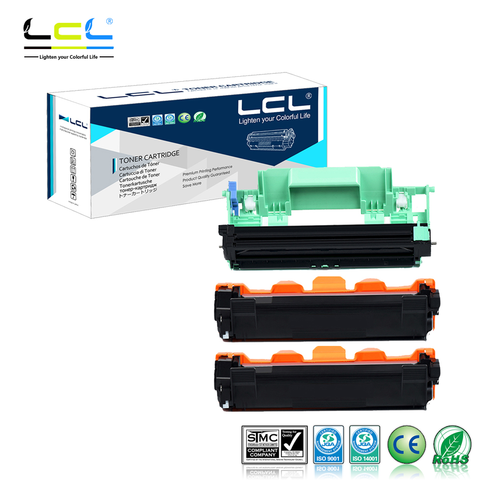 LCL TN1030 TN1050 TN1070 TN-1070 TN1075 DR1030 DR1050 DR1070 DR1075 (3-Pack) Toner Cartridge Compatible for Brother HL1110/1110R