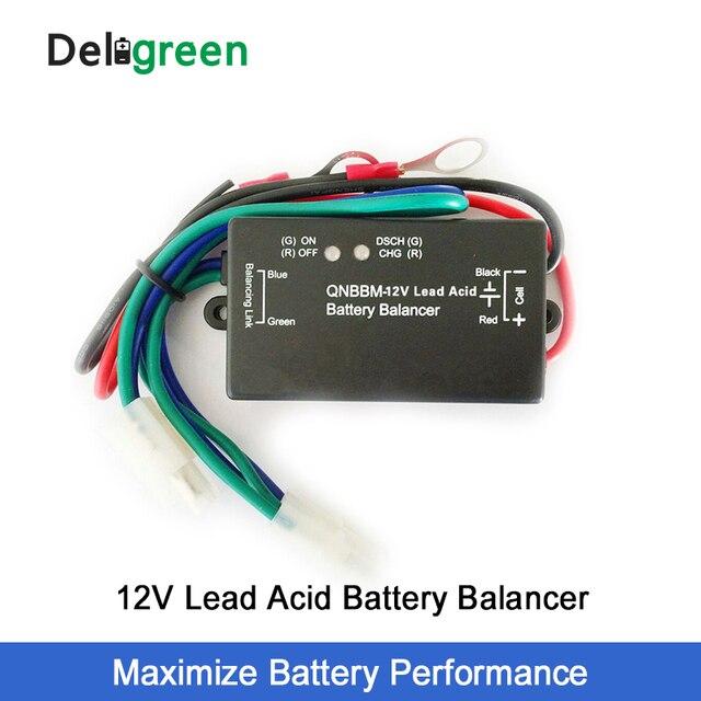 12V עופרת חומצת סוללה איזון עם Led חיווי 1S סוללה אקולייזר BMS סוללה גל מוצף AGM