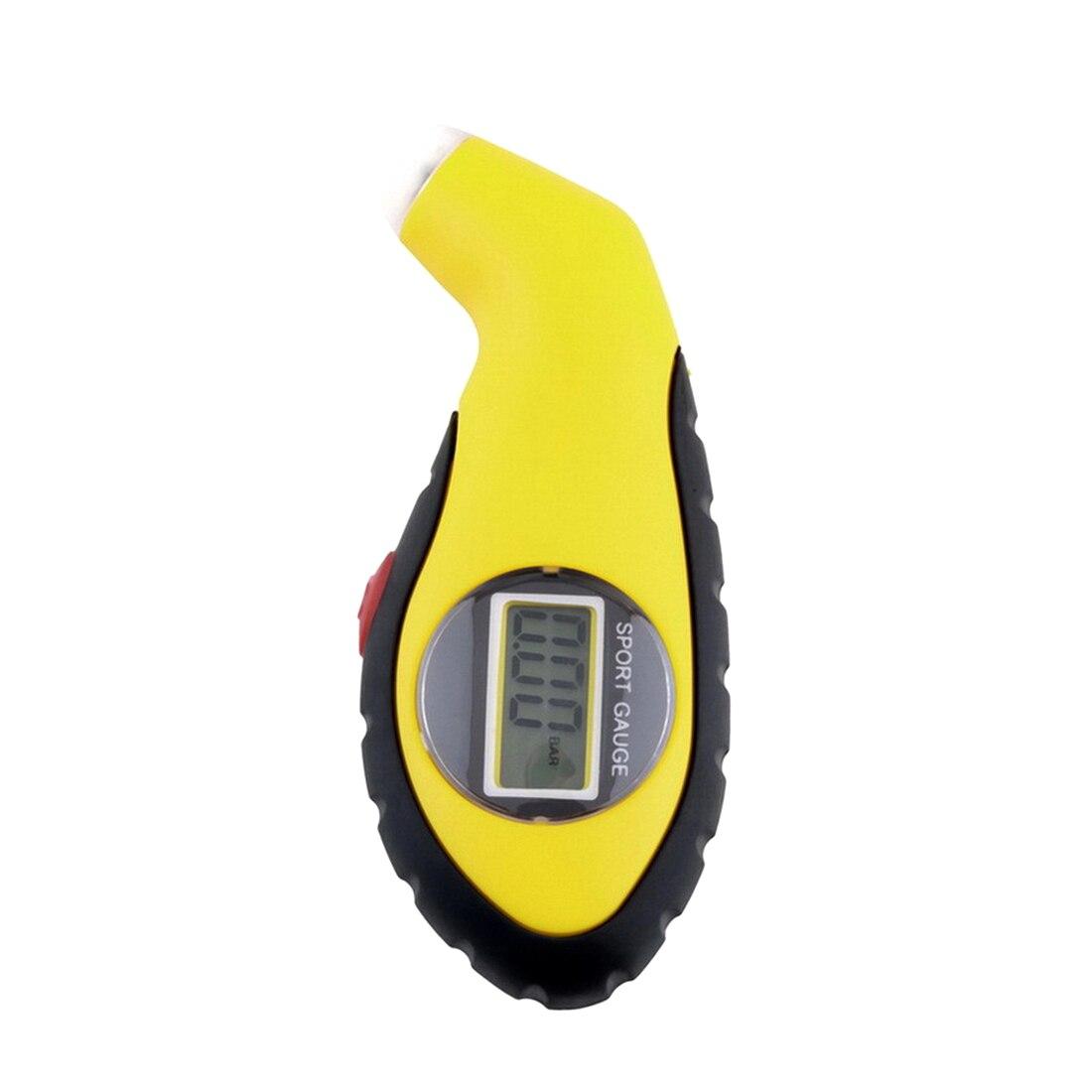 1 шт. ЖК-дисплей цифровой датчик давления воздуха для автомобильных шин манометр барометр тестер для автомобиля Грузовой автомобиль, мотоци...