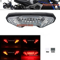 For YAMAHA MT09 MT 09 FZ-09 MT-09 Tracer/ Tracer 900 Tracer 700 MT-10/FZ-10 Integrated LED Tail Light Turn signal Blinker Clear