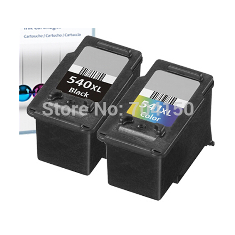 High Capacity For Canon PG 540 CL 541 BlackampColor Ink