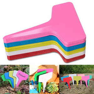 Label-Tools Seedling-Tray Flower Vegetable-Planting Farm-Garden T-Shape 20pcs Mark Waterproof-Tags