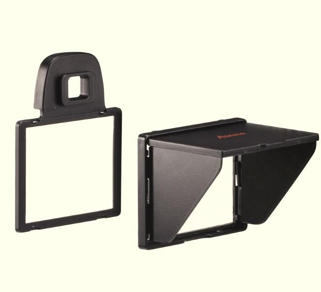 Всплывающее Тень Жк Капот для Экрана Крышка Протектора для Nikon D7100 D7200 Камеры Съемный Крышки Экрана Беспорядок