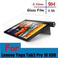 De alta calidad para lenovo yoga tab 3 pro 10 x90l X90F X90 10.1 ''Tablet utra-fino Premium Protector de Pantalla de Cristal Templado película