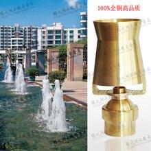 Медь материал 1 регулируемое сыворотки сопла фонтан глава бассейн воды — колонка
