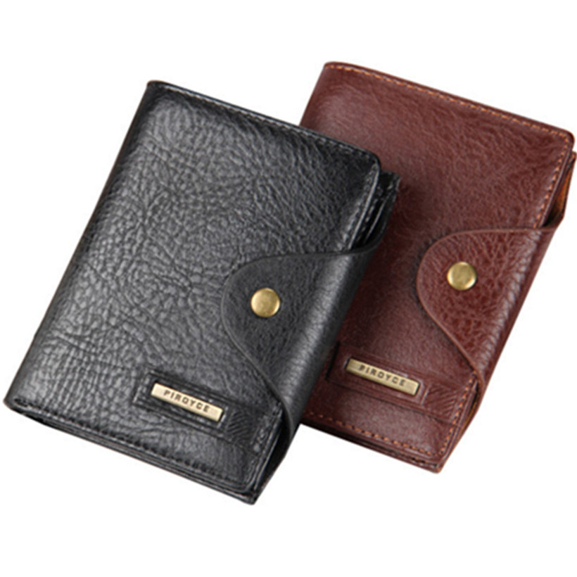 2016 Fashion Men Wallets With Coin Pocket Famous Brand Hasp Wallet Retro Mens Wallet Male Purse Card Holder for Men Carteira fashion men wallets famous brand genuine leather wallet hasp design wallets with coin pocket purse card holder for men carteira